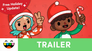 it s winter holiday in toca life trailer toca life city toca life tocaboca
