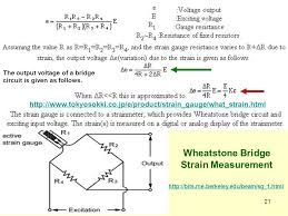 wheatstone bridge strain measurement