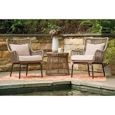 3 piece chair and table set