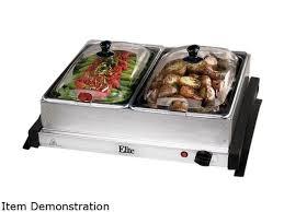 double buffet warming trays