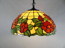 stained glass chandelier for flush ceiling lights with antique