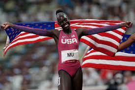N.J. teen Athing Mu wins 800 meters at ...