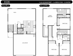 marvelous bedroom house floor plans story plan two blueprints design 2 level house plans ranch