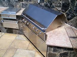 Make Stainless Steel Countertop Kitchen Stone Cabinet With Stainless Steel Appliance Combined