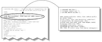 cascade style sheet bringing css and html together cascading style sheets the