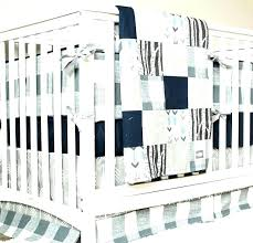 decoration woodland nursery bedding girl baby set deer crib navy blue