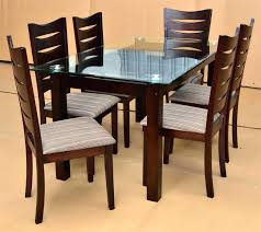 glass table and chairs for glass and wood dining table set fresh in perfect room