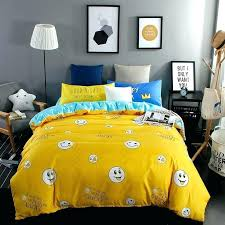 2017 fashion bright yellow duvet cover set 3 4pcs bedding queen size bed linenduvet covers and