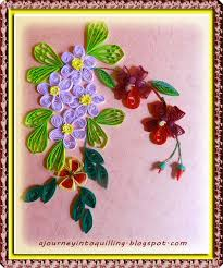 Paper Quilling Flower Frames A Journey Into Quilling Paper Crafting Basic Quilling Flower