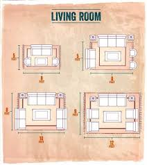 living room rug layout choosing the right size area rug for your living room