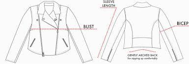 Jacket Measurements Chart All 67 Sizing Chart