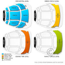 Unfolded Performing Arts Center Appleton Wi Seating Chart