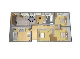 exclusive idea 5 20 x 48 house plans 24 mobile home floor