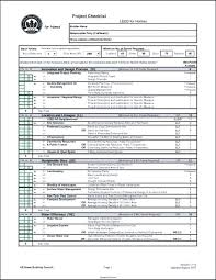 Project Checklist Template Excel Project Checklist Template Training ...