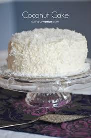 Coconut Cake Culinary Mamas