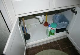 leak under sink in bathroom see the cabinets i built for the laundry room leaky moen leak under sink
