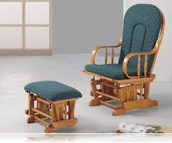 glider rocking chair with ottoman. Interesting Chair Country Oak Glider Rocker  Ottoman Inside Rocking Chair With U
