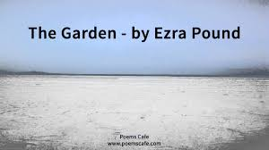 the garden by ezra pound