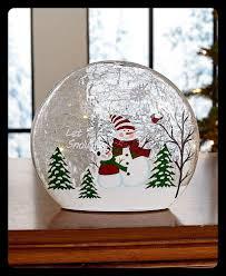 Lighted Snowman Snow Globe 12 Snowman Decorations That Will Spread Winter Cheer Ltd