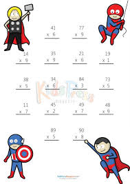 1000+ images about Multiplication Facts on Pinterest ...Multiplying 2 Digits by 1 Digit #2 #Fun #Math #Multiplication #Worksheet