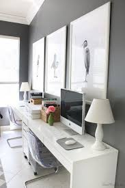 Homefice decor ikea ideas Fice Design 35 Lovely Home Office Design Ideas To Get Inspiration homeoffice workspace Office With Two Pinterest Ikea Micke Desk Setup In Home Office For Two Home Office For Two