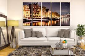 5 piece huge canvas art living room artwork star large pictures yellow canvas on beautiful wall art for living room with 5 piece artwork yellow canvas wall art beautiful city canvas art