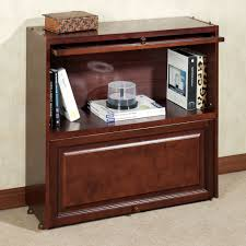 aubrie barrister bookcase with wood doors touch to zoom