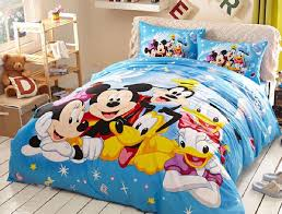 details about disney mickey minnie donald duck cotton sheet duvet cover bed set not comforter