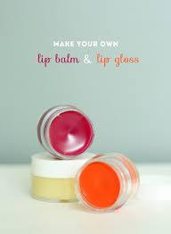 diy lip gloss lip balm the sweet escape