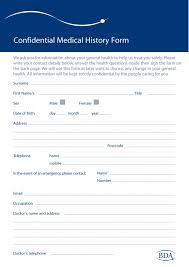 Forms For Word 100 Medical History Forms [Word PDF] Printable Templates 41