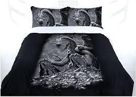 dragon bedding set green eyed dragon bed doona duvet cover set single double queen king dragon