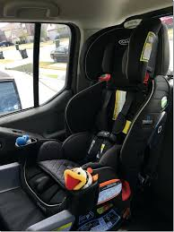 how to convert graco car seat to high back booster