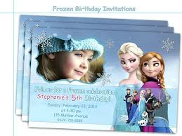 make your own frozen invitations personalized frozen birthday invitations and get inspired to create