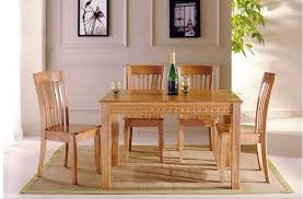 great solid wood dining table sets solid wooden dining table and chairs chairs youll love