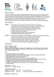 Resume Format For Nurses Cool Resume Format For Nursing Example Nursing Resume Nursing Student