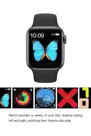 AteşTech Akıllı Saat T500 Smart Watch Türkçe Menü Tam Dokunmatik - Siyah  Fiyatı, Yorumları - TRENDYOL