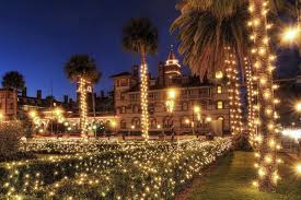 Miami Christmas Lights Tour Christmas In St Augustine By Orlandotravelco Christmas