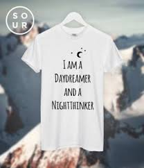 gifts for aquarius men i am a day dreamer tee
