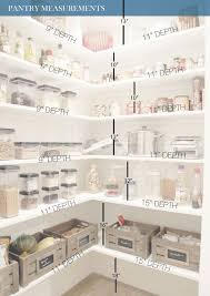 the finished pantry shelves and kitchens with kitchen idea 3