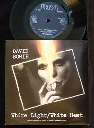 David Bowie White Light White Heat David Bowie White Light White Heat Cracked Actor