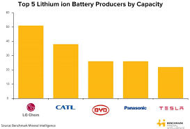 A Look At The Top 5 Lithium Ion Battery Manufacturers In