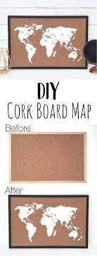 Image Craft Corkboardmapcraftpinjpg Doodle And Stitch Diy Cork Board Map Doodle And Stitch