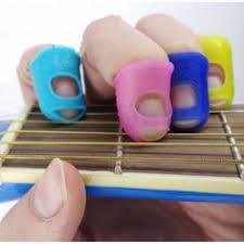 <b>5pcs Silicone Guitar</b> Thumb Finger Picks Protector Plectrum ...