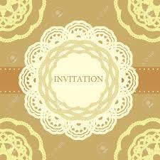 vintage invitation card template frame design for card royalty vector vintage invitation card template frame design for card