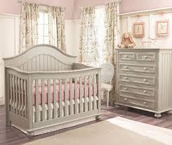 baby furniture ideas. Dark Grey Wooden Munire Crib With Pink Bedding On Floor Plus White Carpet Dresser Baby Furniture Ideas