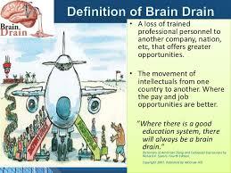 brain drain in  3