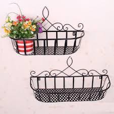 american country wrought iron balcony living room wall flower planters style wall shelf wall shelf baskets