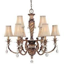aston court 9 light bronze chandelier
