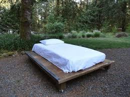 handcrafted pallet platform bed  diy pallet platform bed with wheels
