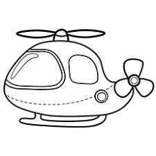 Small Picture Helicopter Coloring Pages Free Printable for Kids
